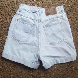 80s BUM equipment very high waisted shorts